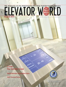 August 2010 Elevator System with Multiple Cars in One Hoistway