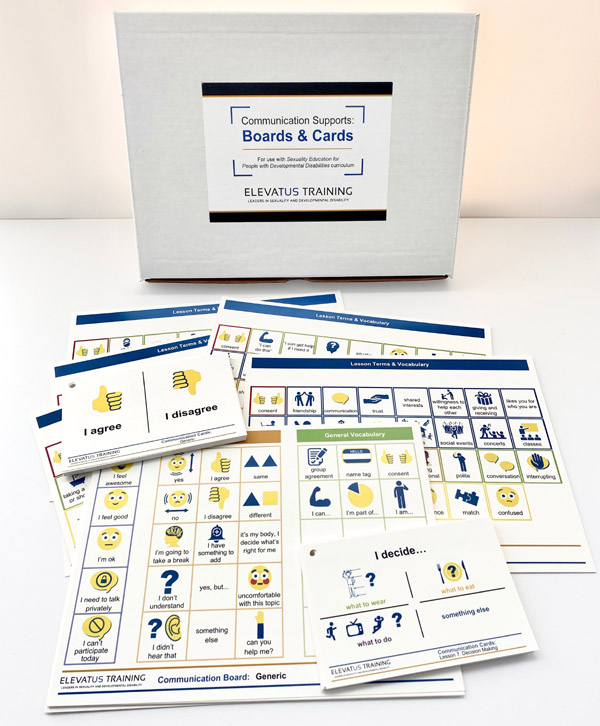 communication boards and cards