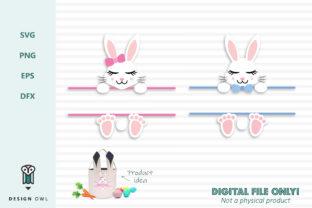 Easter Bunny Monogram Banner