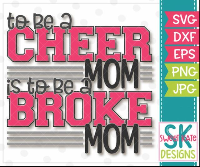 Cheer Mom = Broke Mom