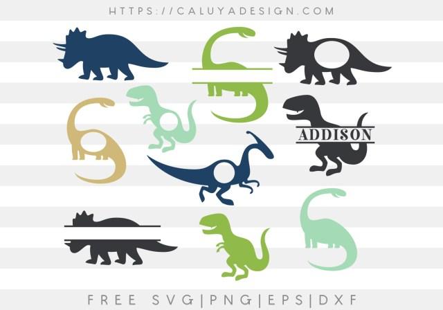Dinosaur Monograms