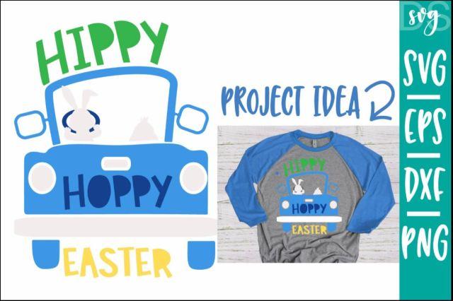 Hippy Hoppy Easter Truck