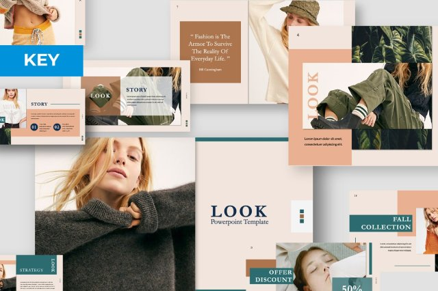 Look Keynote Template