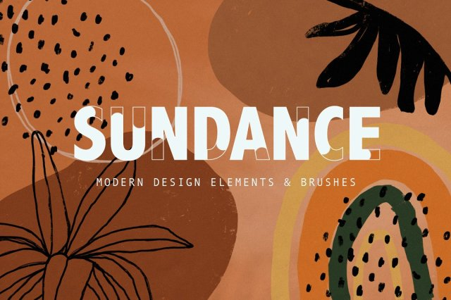 Sundance Design Elements + Brushes