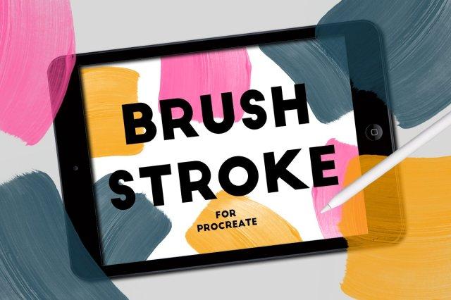 Brush Stroke For Procreate