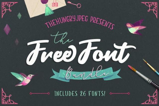 free-font-bundle