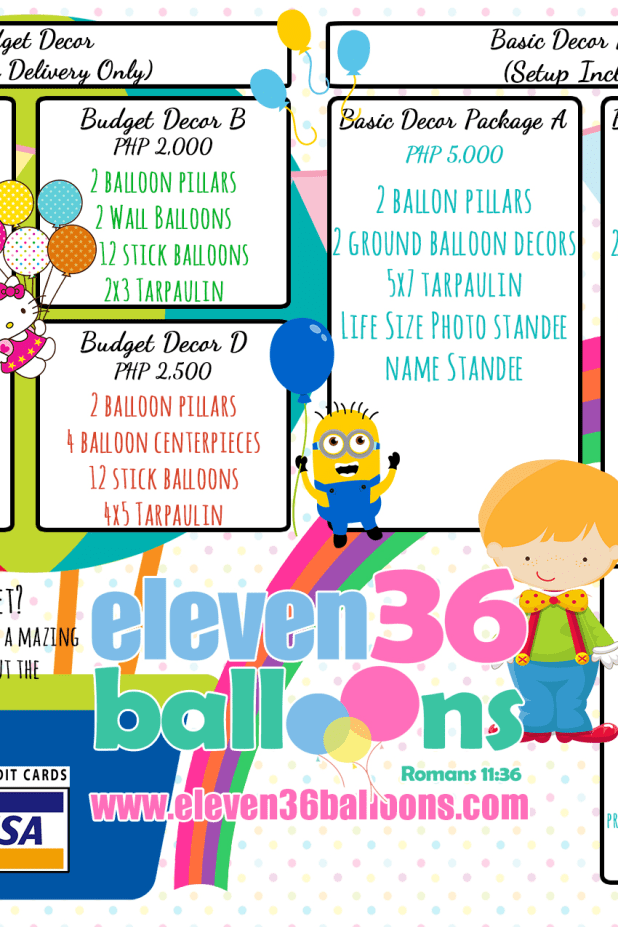 Cebu Balloon Arrangement | Cebu Balloon Decoration