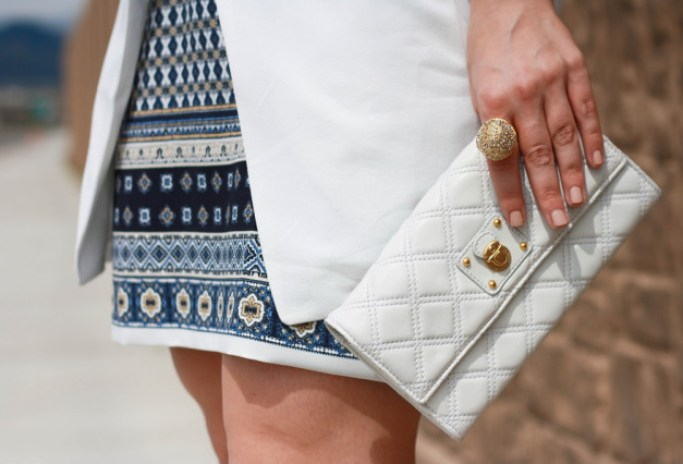 Marc Jacobs Quilted Clutch