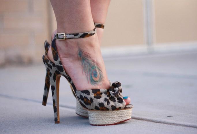 Charlotte Olympia Leopard Heels