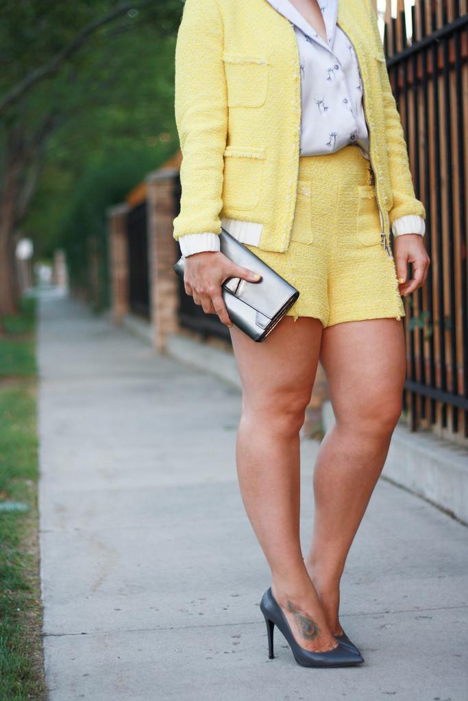 Zara Tweed Set