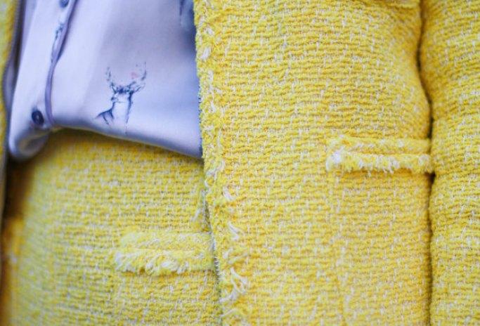 Yellow Tweed