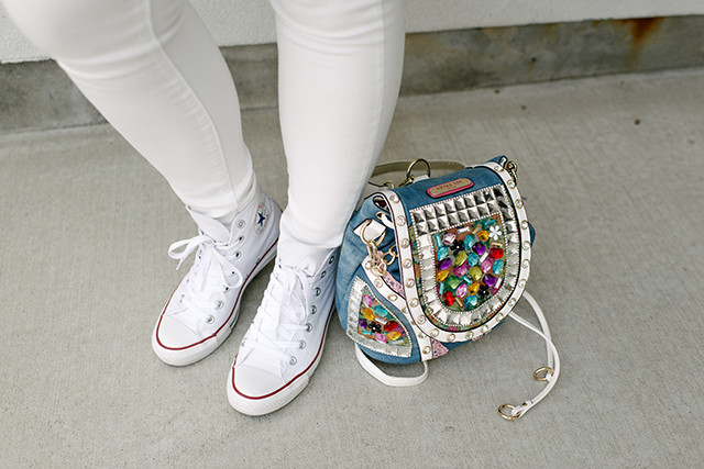 White Converse All-Star High Tops