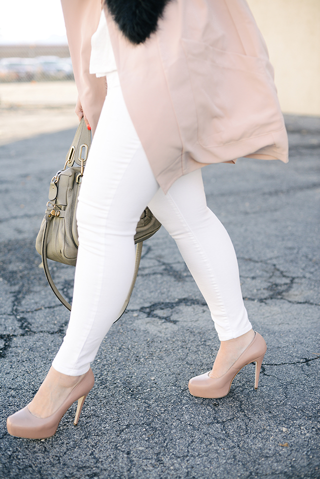 Winter White Jeans