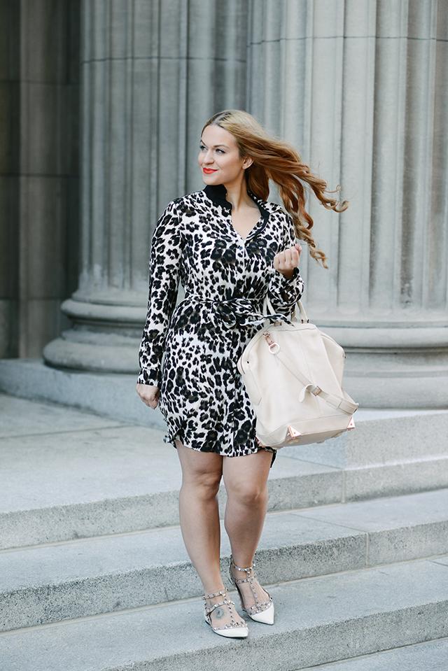 DVF Leopard Dress
