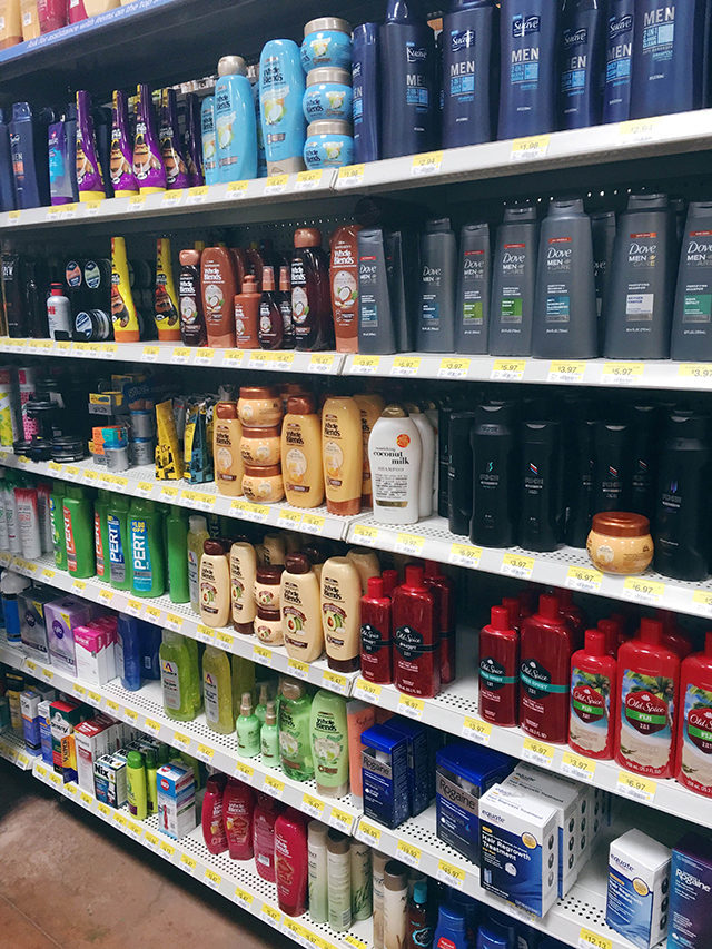 Garnier Whole Blends at Walmart