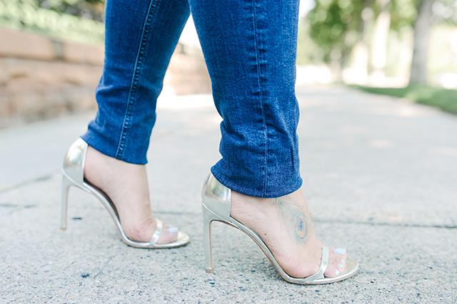 Hemmed Jeans