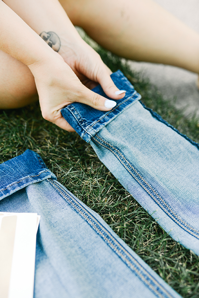 How to Hem Your Jeans