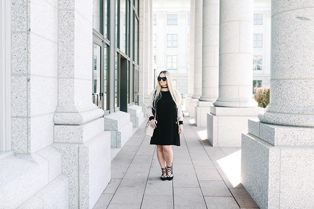 Asos Black T-shirt Dress
