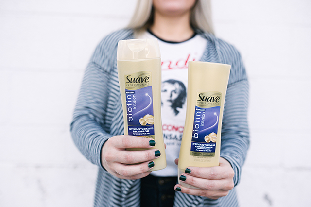 Suave Biotin Infusion Shampoo and Conditioner