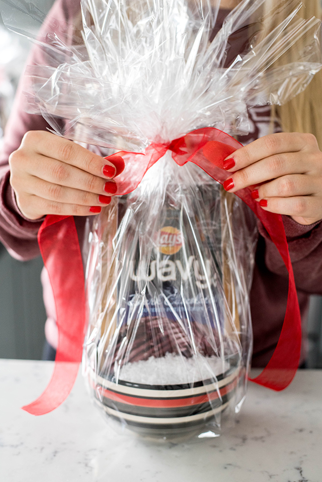 Chocolate Wavy Lays Holiday Gift Basket
