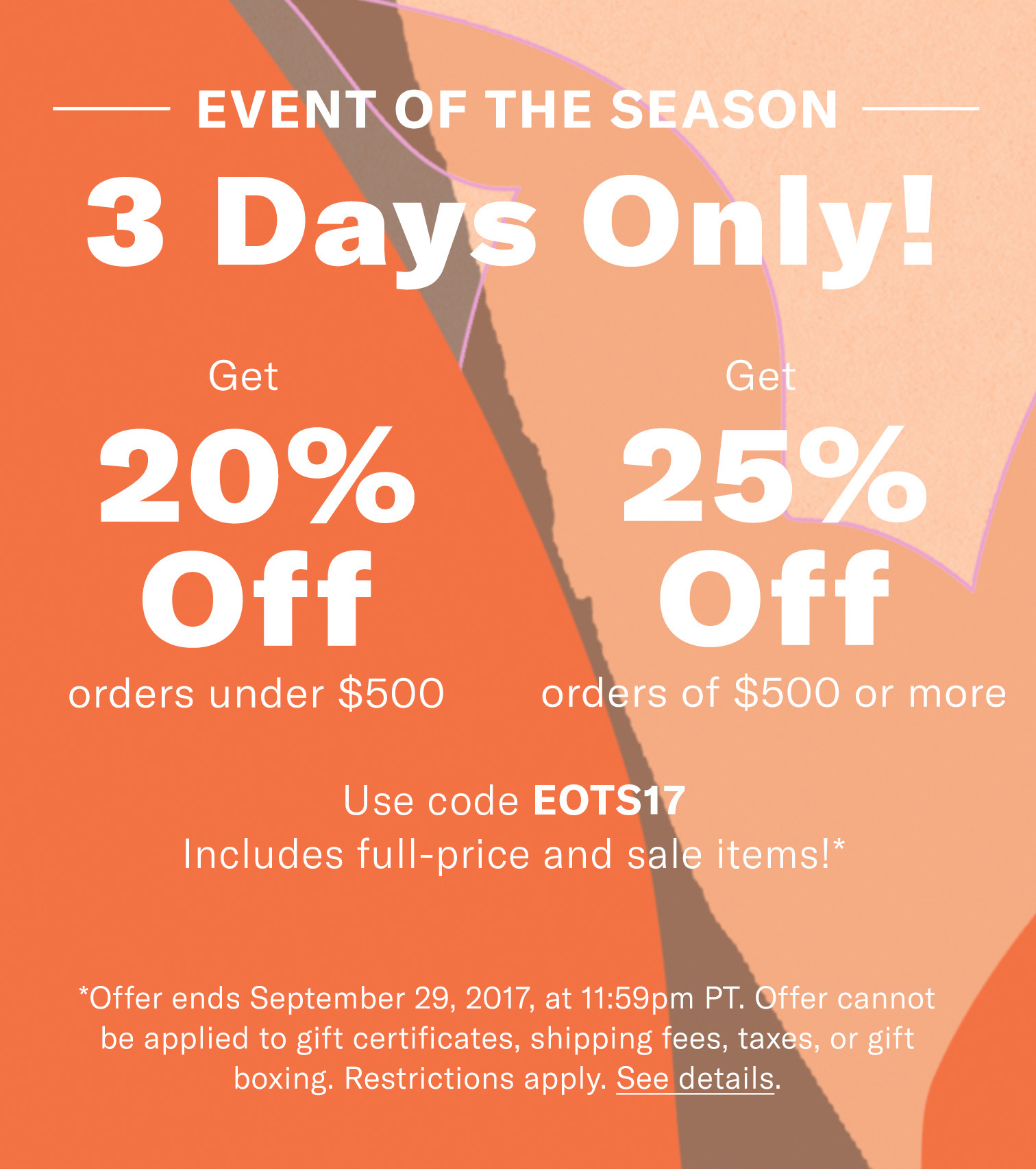 Shopbop Sales Event