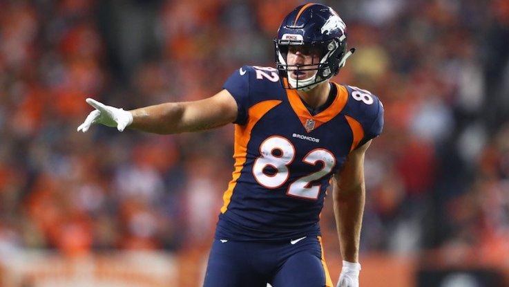 Broncos resign TE Jeff Heuerman