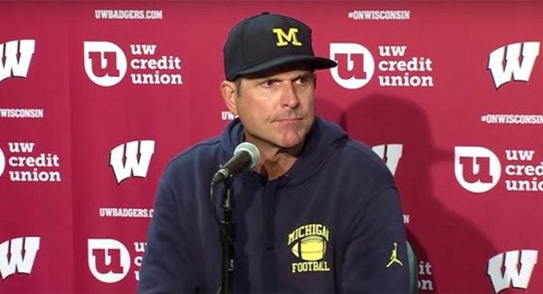 Big Ten Recap: Badger Boat Race is Yet Another Big-Game Embarrassment for Jim Harbaugh and the Wolverines