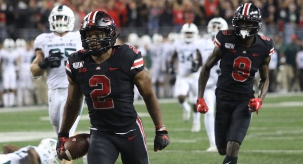 Ohio State Pulls Away with 24-Point Second Quarter to Defeat Michigan State, 34-10, and Improve to 6-0