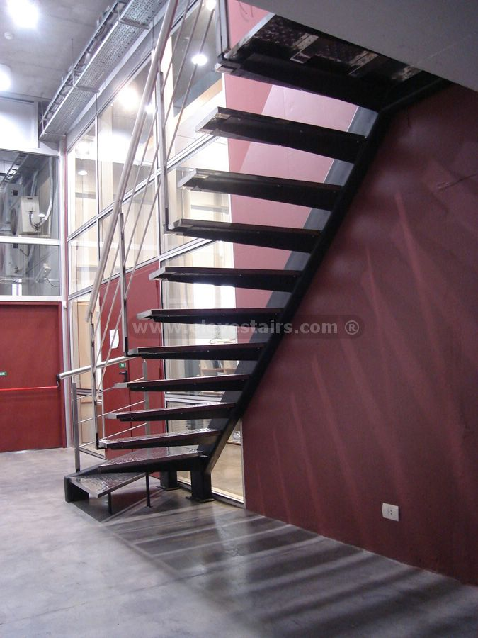 Open Staircase Floating Stairs