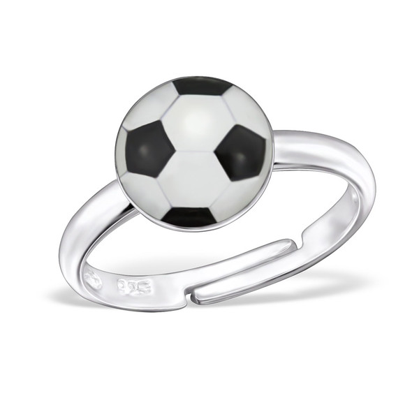 childrens-silver-football-ring-adjustable