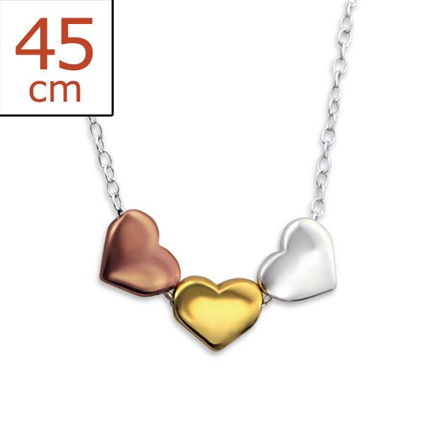 silver-hearts-necklace