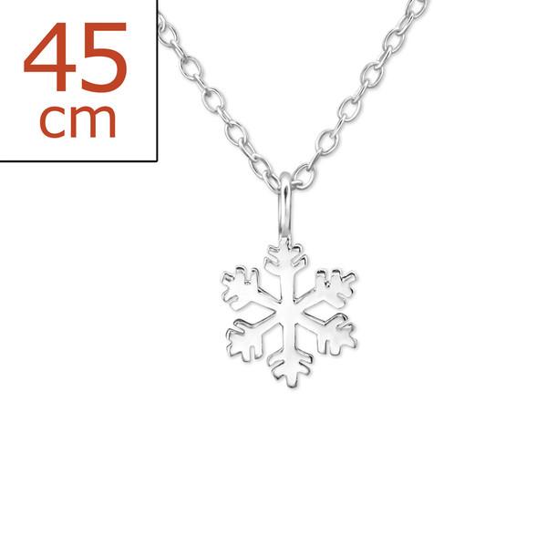 silver-snowflake-necklace