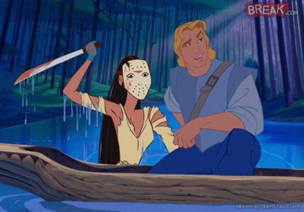 Pocahontas es Jason Voorhees