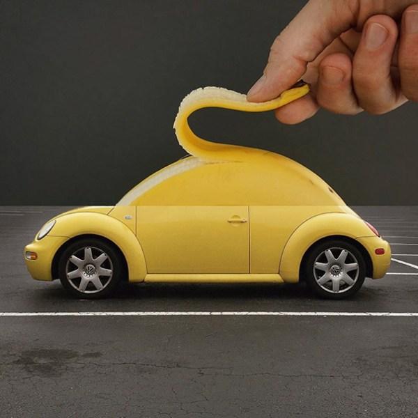 4. Plátano + Coche