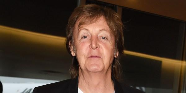 TOKYO, JAPAN - MAY 15:  Paul McCartney is seen upon arrival at Haneda Airport on May 15, 2014 in Tokyo, Japan.  (Photo by Jun Sato/GC Images)