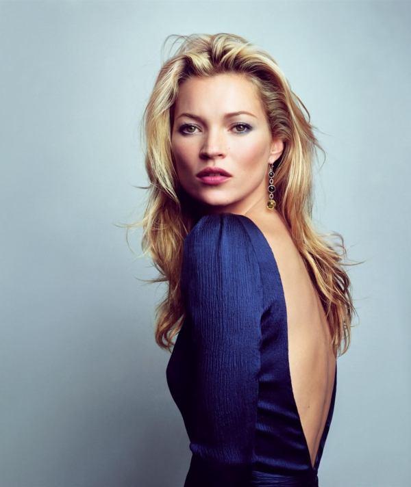 94f04ee656389 Mira las inéditas fotos de la super modelo Kate Moss cuando apenas ...