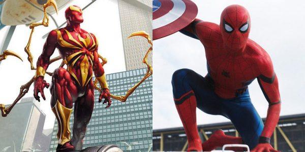 Iron Man Spiderman