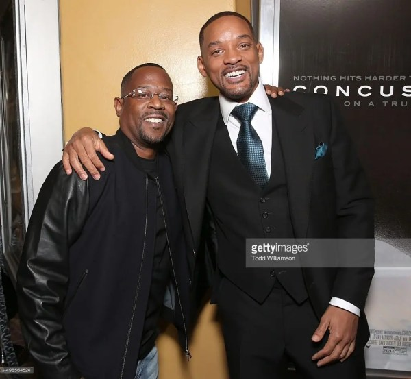 Will Smith y Martin Lawrence en 2015