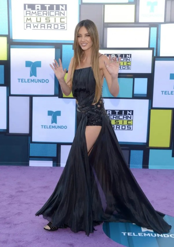 HOLLYWOOD, CA - OCTOBER 06: TV personality Patricia Zavala attends the 2016 Latin American Music Awards at Dolby Theatre on October 6, 2016 in Hollywood, California.   Matt Winkelmeyer/Getty Images/AFP