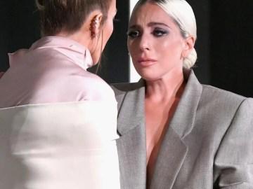 #LaFotoDelDía - Jennifer Lopez hizo llorar a Lady Gaga con emotivas palabras 💪🏽👩🏽