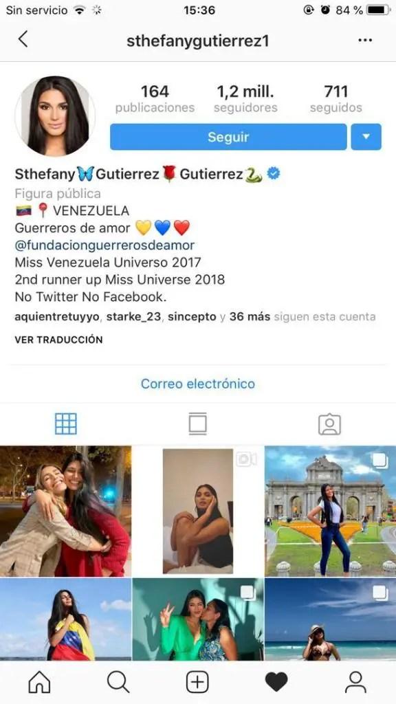 Sthefany Gutiérrez