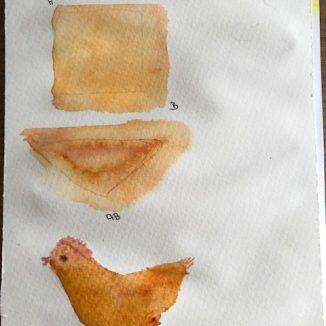 Kleine Waldorf Hühner stricken zum spielen für eure Kinder, sie sind schnell gestrickt und zauberhaft niedlich anzusehen.Dazu passend habe ich auch einen Zaun gebaut, beide Anleitungen findet ihr auf unserem Blog www.elfenkindberlin.de