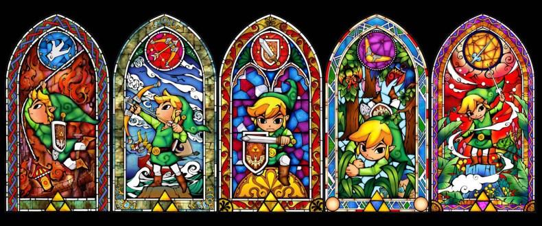 Illustrazioni da Zelda Wind Waker