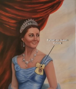 Herzogin Kate , Duchess of Cambridge nach Franz Xaver Winterhalter