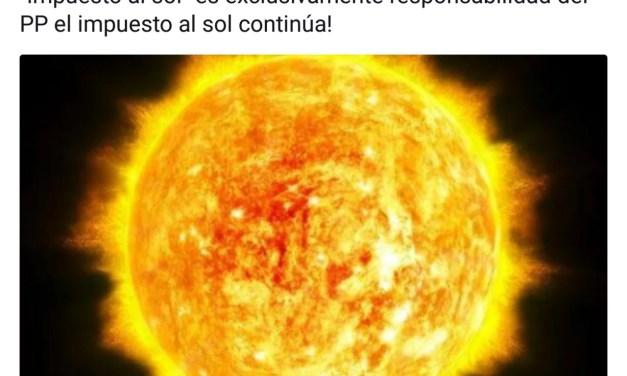 Ciudadanos está a favor del impuesto del Sol. MENTIRA