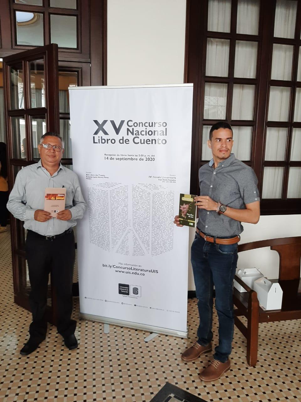 Ganadores del concurso de literatura UIS 2019