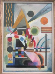"Photograph of ""Swinging"" (1925) by Wassily Kandinsky"