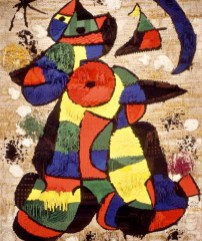 "Photograph of ""Rug"" by Joan Miró"