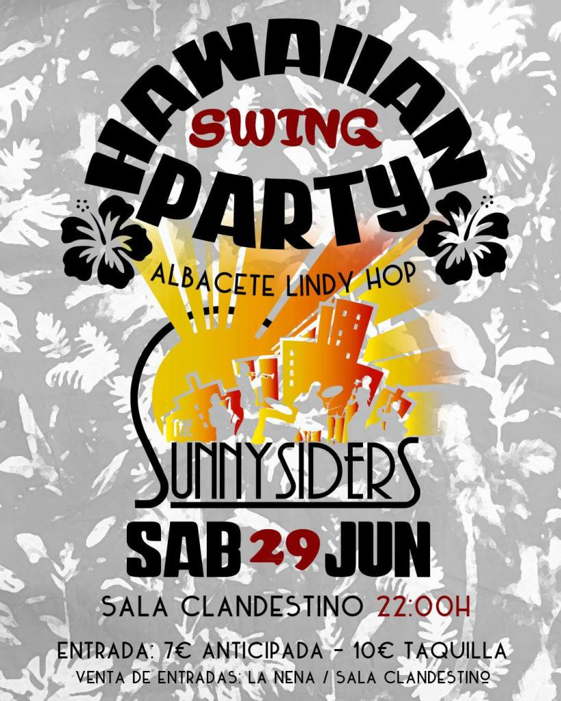 Hawaiian SWING Party!