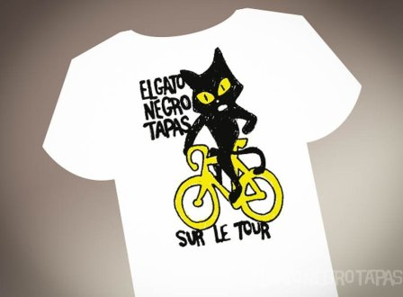El Gato Negro Tour de France t-shirt